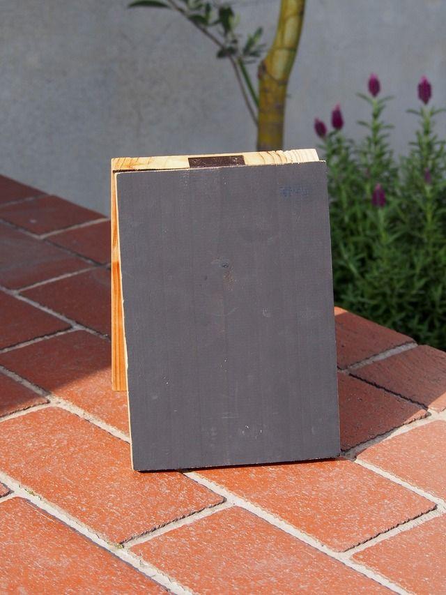 再々販・・・木製ミニ黒板
