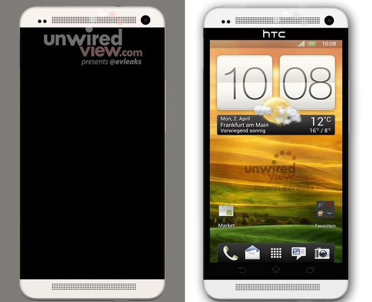 Render of HTC M-7 Smartphone Uncovered