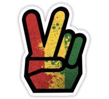 finger rasta Sticker