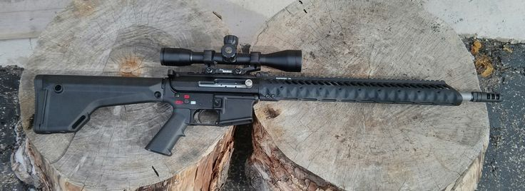 100% New Yorkcompliant AR-style rifle by building it without any gas system and so creatinga manually operated bolt action rifle rather than a semi-automatic. It was inspired by the various bolt-action AR-15s sold in the United Kingdom. The parts list includes: Spikes lower KAK 18″ custom barrel …   Read More …
