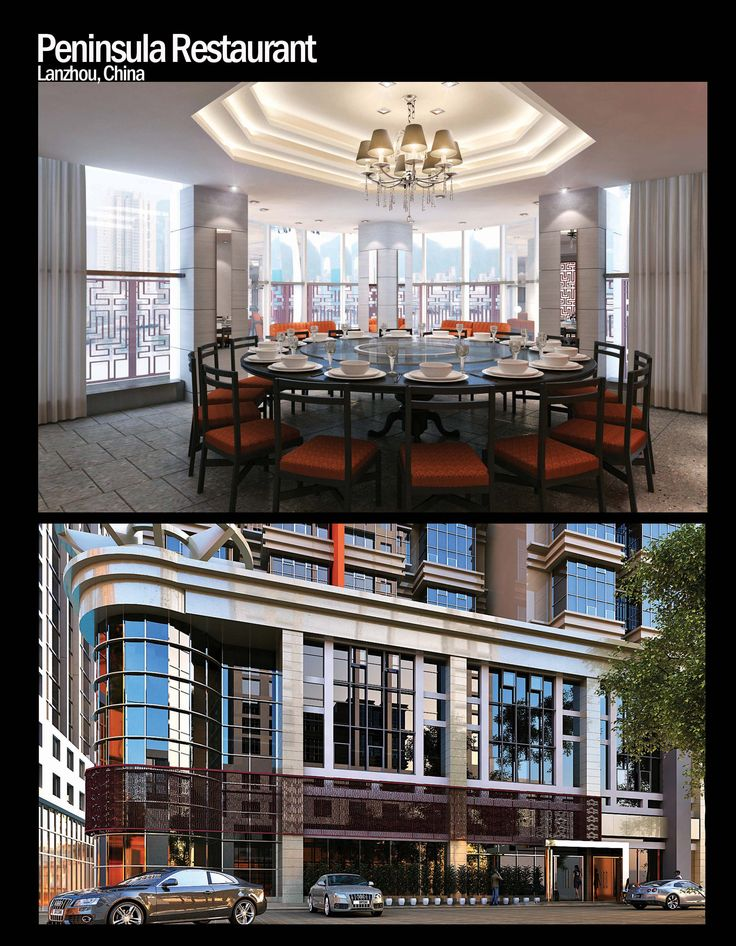 Peninsula Restaurant by JsaHK 3d vizualization by EAC
