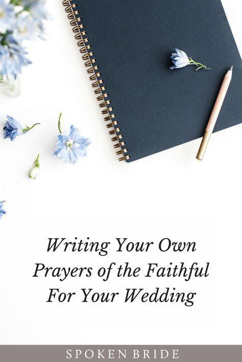 Catholic Wedding Help Writing Your Own Prayers Of The Faithful For M