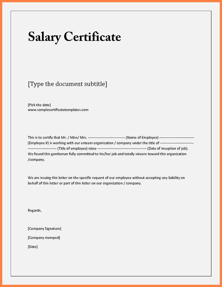 Best 25+ Certificate format ideas on Pinterest Certificate - employment certificate template