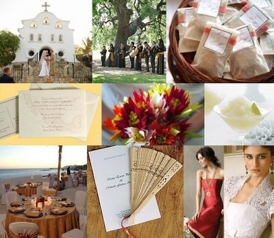 Your Wedding Support: GET THE LOOK - Spanish Themed Wedding