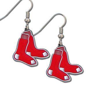 Boston Red Sox Dangle Earrings
