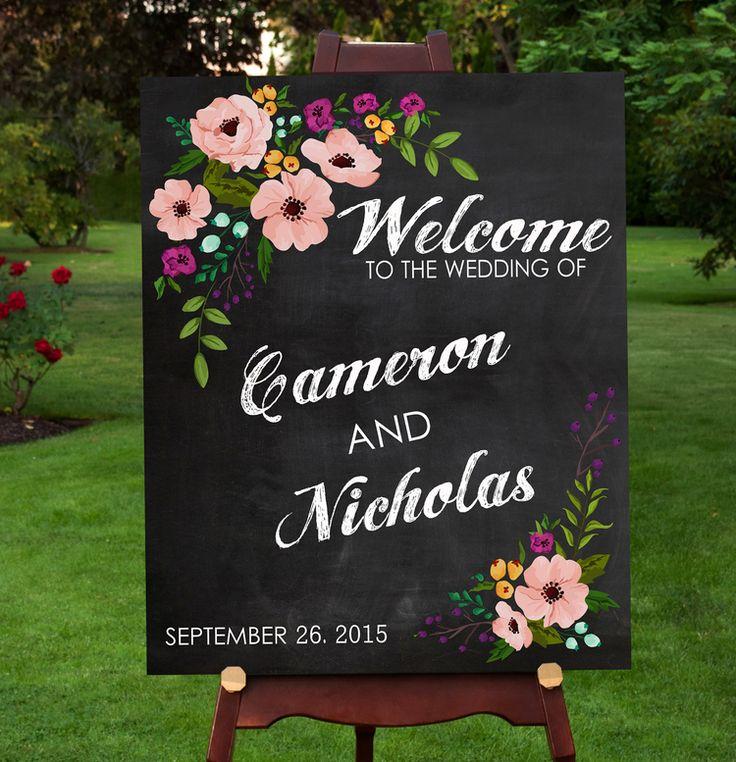 131 best WEDDING SIGNS PRINTS images on Pinterest Wedding