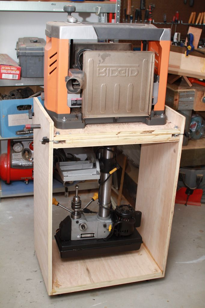 Planer Stand Plans Free Woodworking Projects Amp Plans