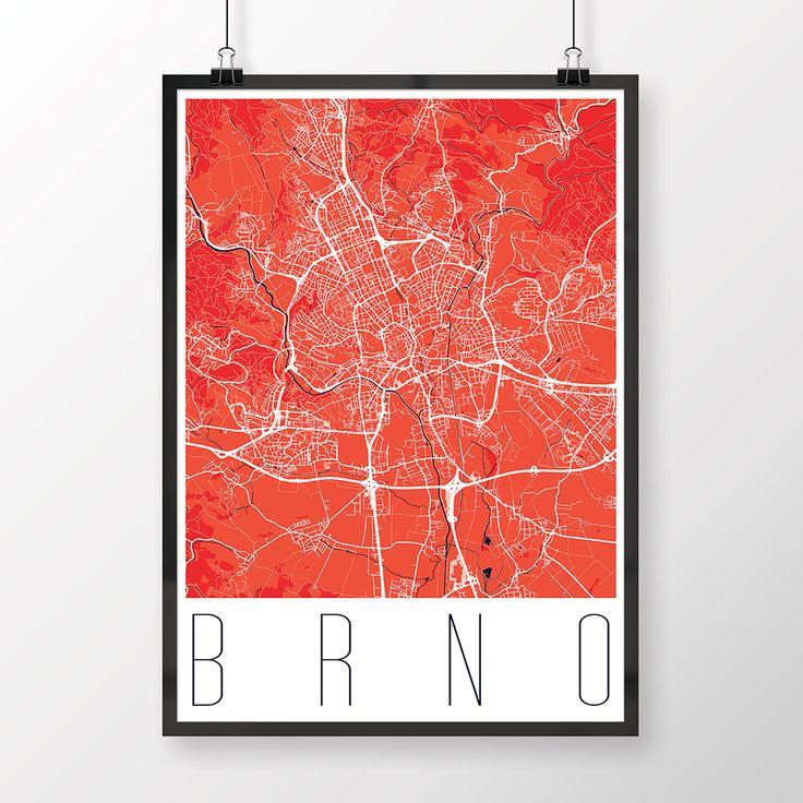 BRNO,+50x70cm,+moderní,+červené+Potešte+seba,+svojich+blízkych+či+známych+jedinečným+posterom+svojho+mesta!+-+Papier:+180g/m2+matný.+-+Rám+nie+je+súčasťou.+-+Poster+je+vhodný+do+rámov,+ktoré+sa+bežne+predávajú+vo+všetkých+obchodoch+s+dekoráciami+a+doplnkami.+-+Farba+posteru+sa+môže+mierne+líšiť+v+závislosti+od+nastavení+vášho+monitoru.+-----------------------+-...