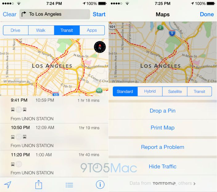 iOS 9-Gerüchte: Öffentliche Verkehrsmitteln, Indoor-Navi und Multi-User-Unterstützung - Karten, iOS 9, Nahverkehr #iphone #apple