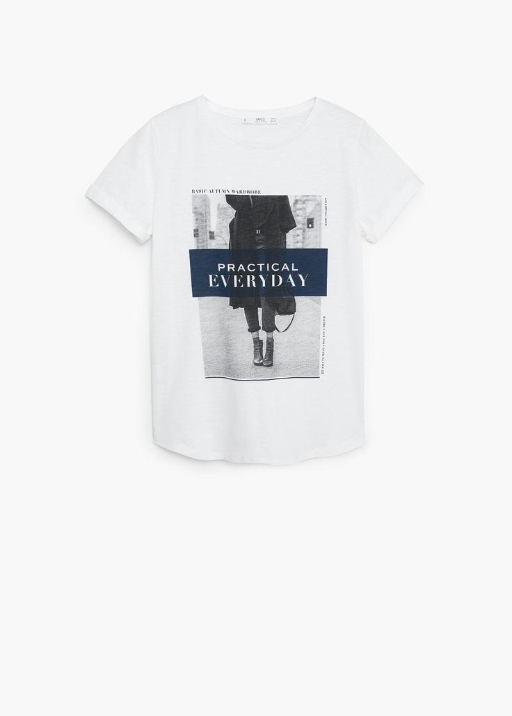 Camiseta practic | MANGO