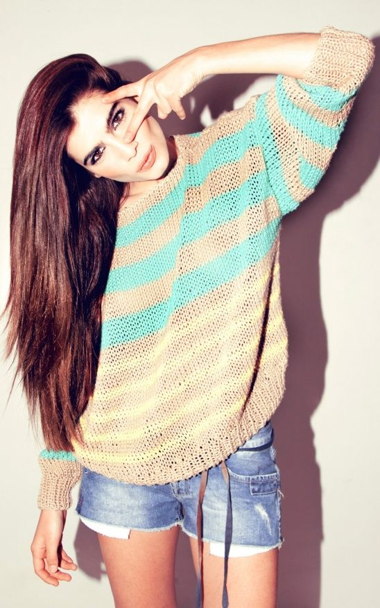 How great is the new Laguna Sweater by WE ARE KNITTERS?! #mustmake #knitting