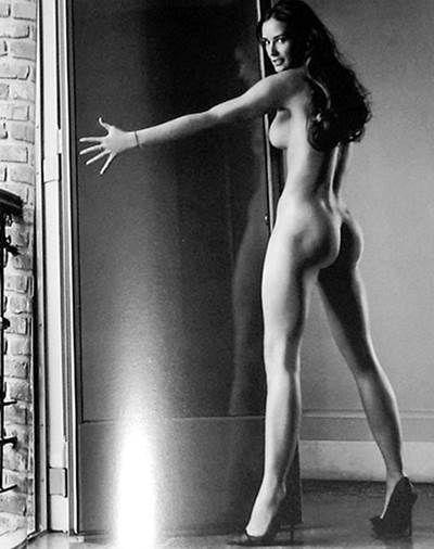 Demi Moore pantalla de protector desnudo