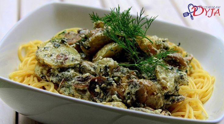 Spaghetti z ziemniakami - Szlakiem Kulinarnych Przyjemności - Przemysław Dyja