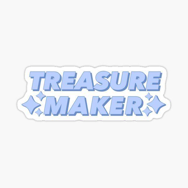 Treasure Maker Kpop Group Treasure Fan Sticker By Adrisinspo In 2021 Treasures Stickers Pop Stickers