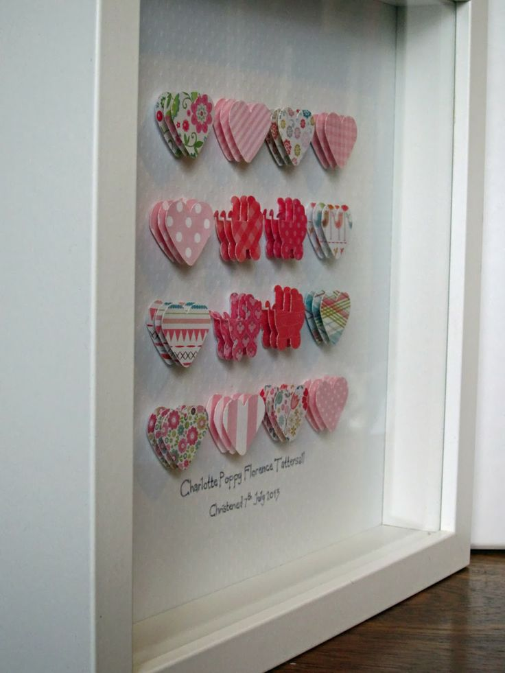 Punched paper shape frames made by me @ Lilibet's Monkey Hut.