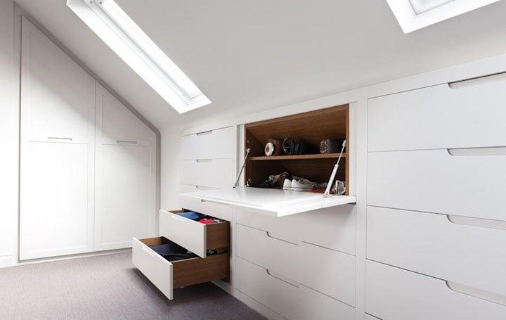 Attic Room Storage