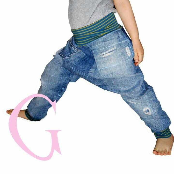 Jeans pumphose