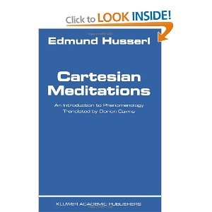 Cartesian Meditations - Edmund Husserl