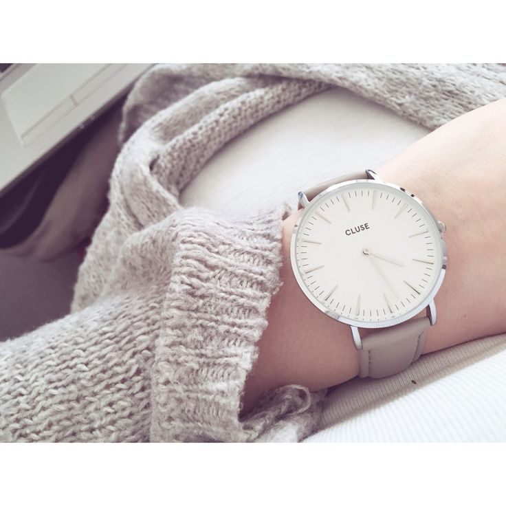 Cluse watches silver