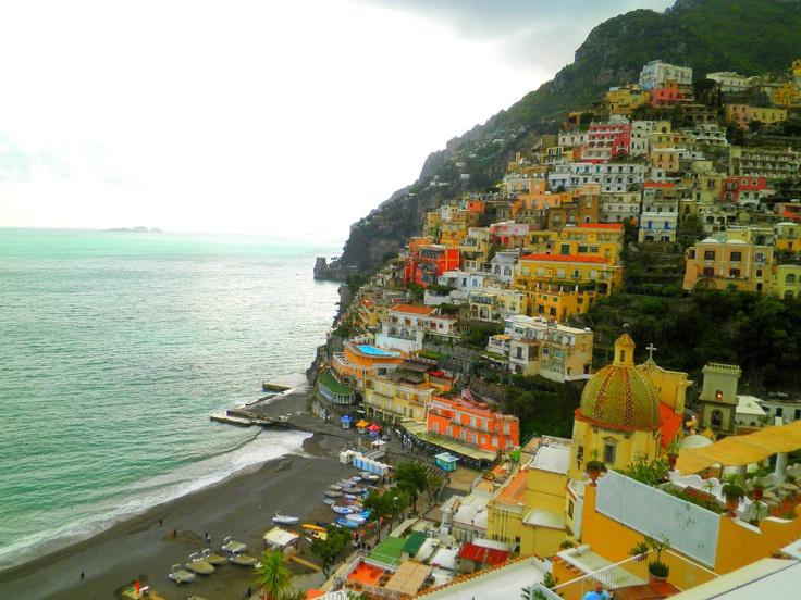 My view of Positano