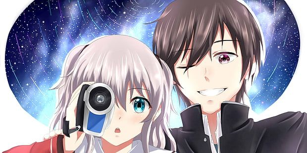 Anime Charlotte Nao Tomori Yu Otosaka 1080p Wallpaper Hdwallpaper Desktop Charlotte Anime Anime Anime Wallpaper Download wallpaper anime charlotte hd