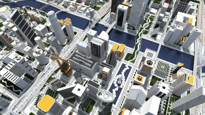 Pin by David Rudd Jr on Minecraft Minecraft city