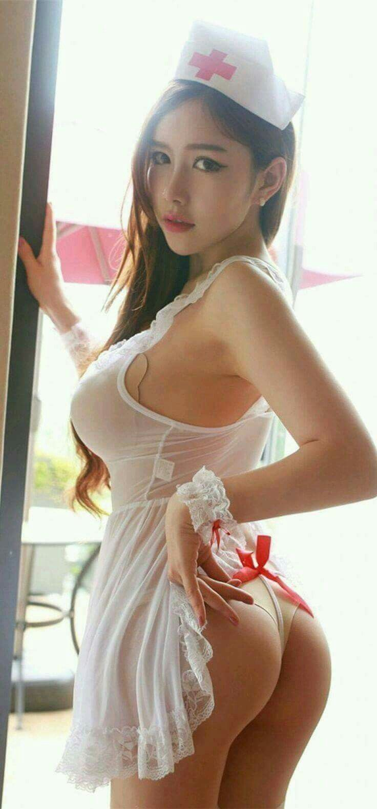 I Love Nurses  Imsc  Pinterest  Asian, Girls -9901