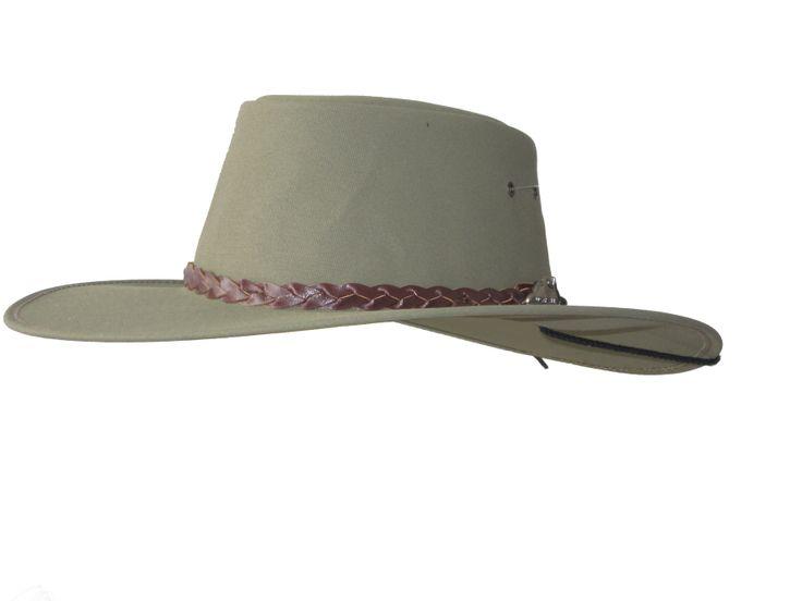 Jumbuck Explorer (Full Canvas hat Wide Brim) - True Blue by Jacaru Australia