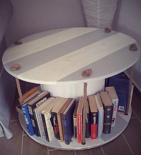 Bobina libreria diy #Ideeggiando