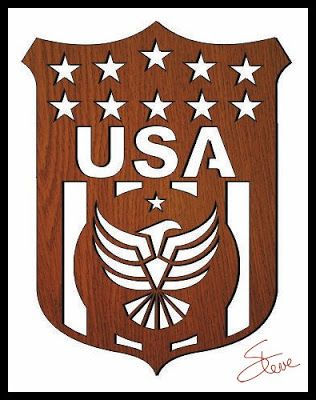 Patriotic Plaque Scroll Saw Pattern from #SteveGood. #freeplansforwoodworking #USAplaque #patriotic #eagle #freetemplate (donations happily accepted) #scrollsawpatternsandprojects #starsandstripes #patriotic http://scrollsawworkshop.blogspot.com/2015/07/patriotic-plaque-scroll-saw-pattern.html