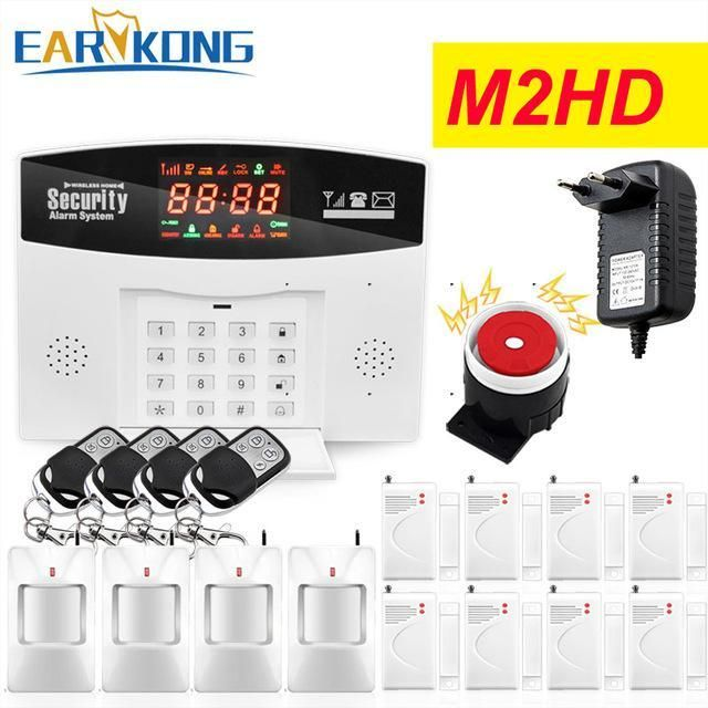 Hot Selling English Russian Spanish Wireless Gsm Alarm System 433mhz Home Burglar S Home Security Systems Wireless Home Security Wireless Home Security Systems