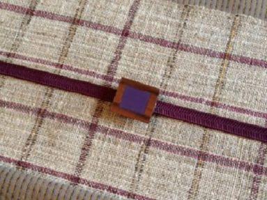 西川はるえ作 八寸名古屋帯 Harue Nishikawa/Textile COCOON