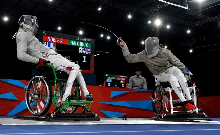 Wheelchair Fencing    Memorable Moment: GB's athletes performed admirably in the face of world-class opponents, with the Men's Team Foil placing 8th and put themselves on the map for Rio 2016.