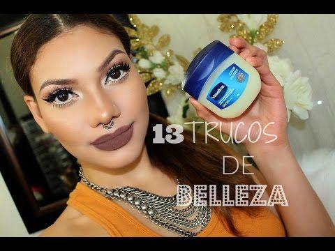 13 Trucos De Belleza y Maquillaje Con Vaselina| Tienes Que Saber! - YouTube