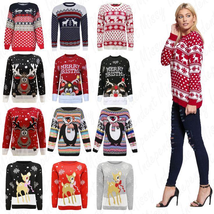 Best 25+ Ladies xmas jumpers ideas on Pinterest   Ladies christmas ...