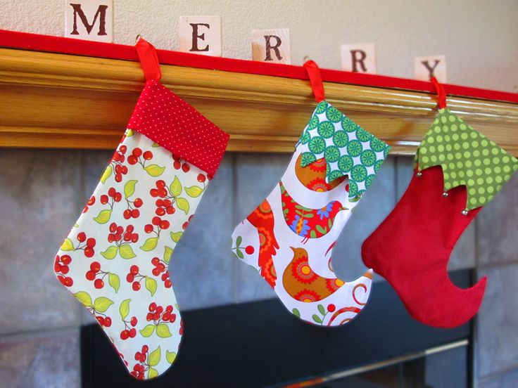 Christmas Stocking Pattern   Elf And Traditional   Sewing Pattern PDF.  $4.95, Via Etsy