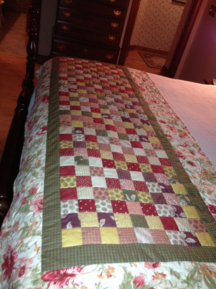 Bed Runner I Want To Make A Black White One For My Guest