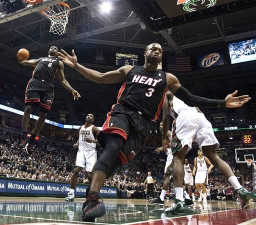 LeBron James - The most epic dunk picture ever.