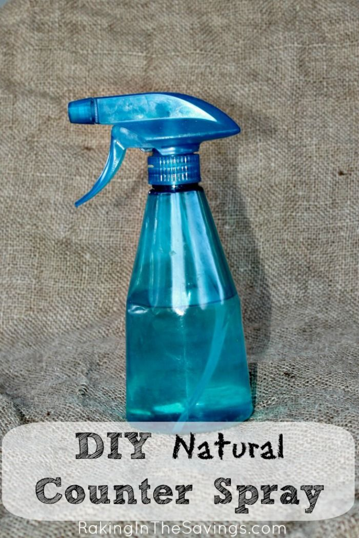 Natural Counter Cleaner | DIY Counter Spray
