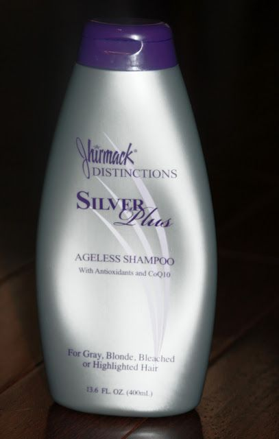 Purple Shampoo for gray/silver/white. Counteracts Yellowing.