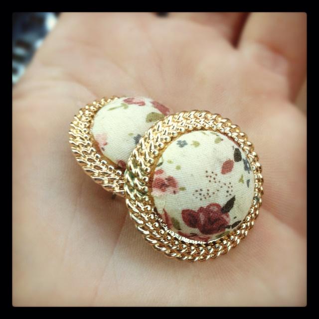 Vintage earrings!