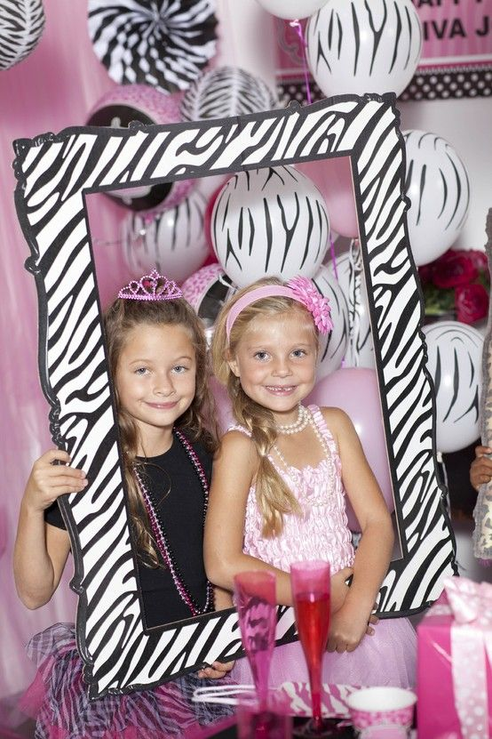 Cute Diva Zebra Print Party Supplies! #Party #Girls #BirthdayExpress
