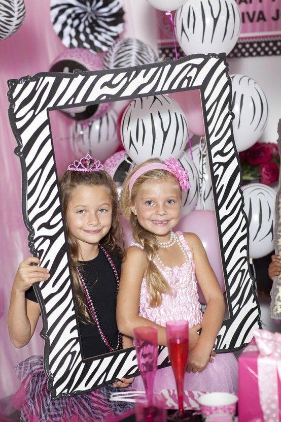 Cute Diva Zebra Print Party Supplies! #Party #Girls #BirthdayExpress