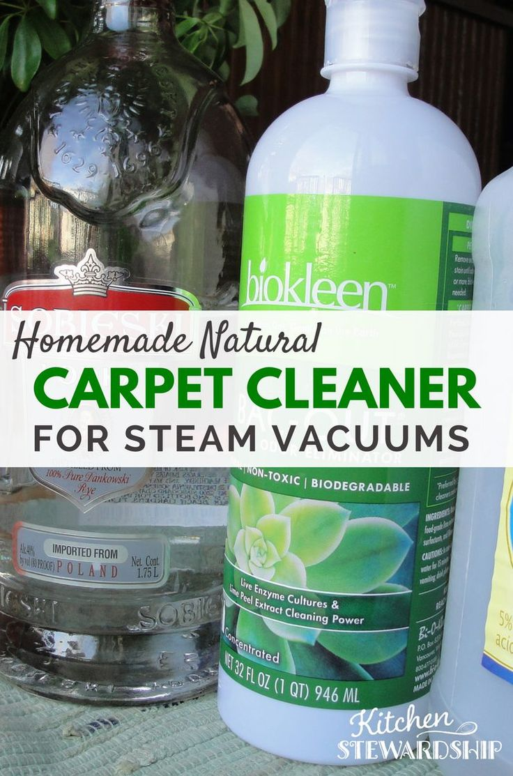 Natural Options for Steam Vacuums to Clean Carpets - a little dirt is good for you, right? Well maybe not in your carpets!