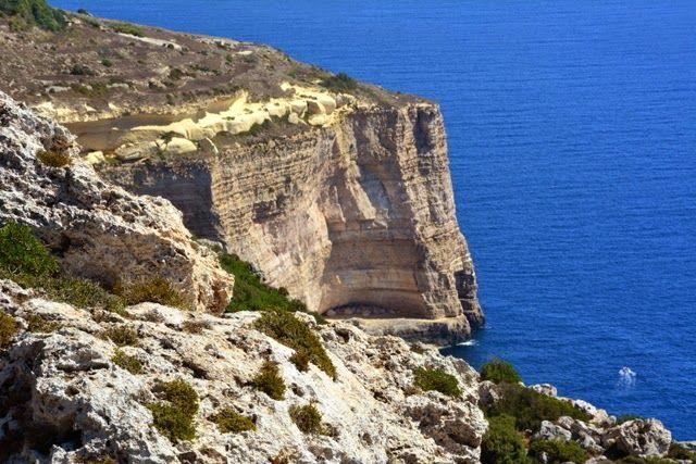 Malta, klif