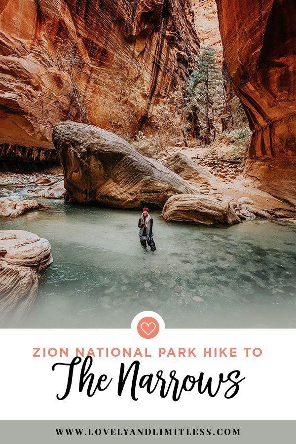 Zion National Park – Die enge Wanderung von unten