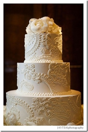 amazing and elegance wedding cake