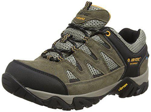 Hi-Tec Penrith Low Waterproof, Damen Trekking- & Wanderhalbschuhe, Grau (Grey/Charcoal/Cornflower), 40 EU (7 UK)