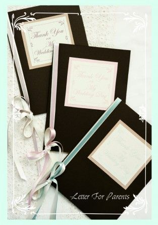 brides letter by AYANO TACHIHARA Wedding Design