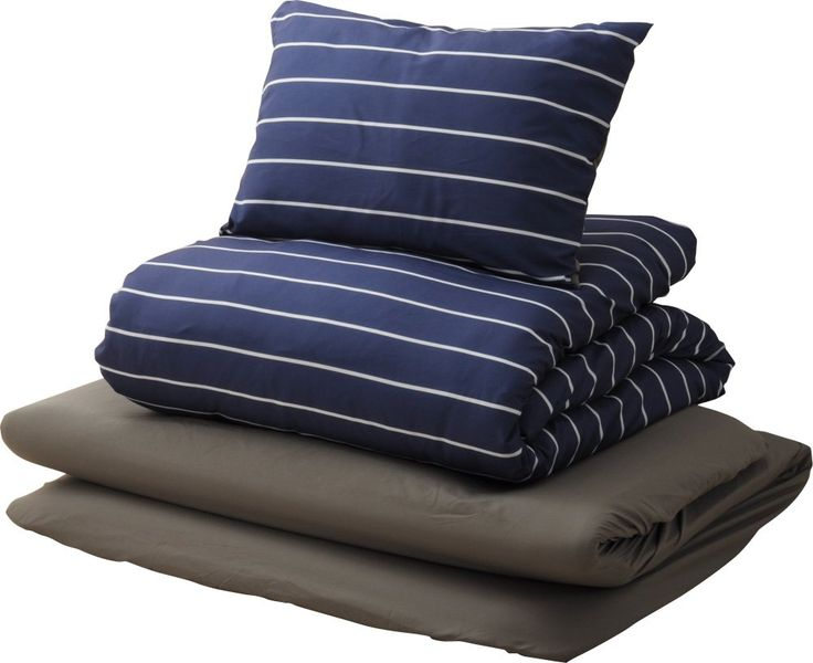 Emoor 6piece japanese futon set with covers navy twin